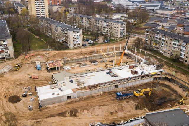 Kauno ledo arenos statybos