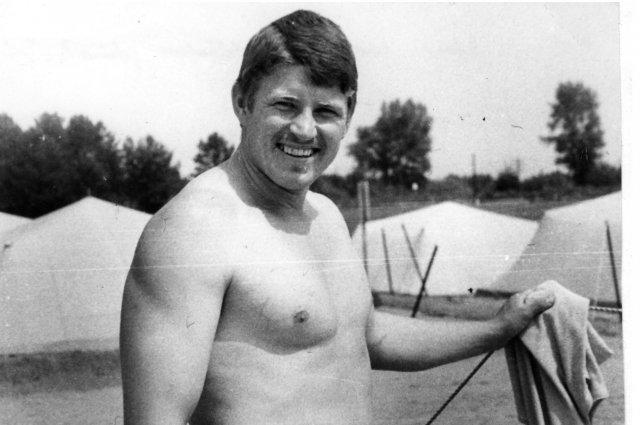 E.Matusevičius likviduojant Černobylio AE sprogimo padarinius.