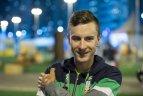 Koronavirusas įkalino Lietuvos dviratininką
