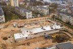 Įsibėgėja Kauno ledo arenos statybos