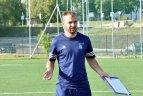 """E. Utyra: FK """"Jonava"""" niekada nepasiduoda"""