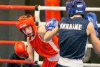 Vilniuje dominavo Ukrainos boksininkai