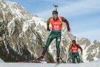 Biatlonininkas pateisino trenerio viltis