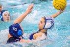 Pirmasis šalies moterų vandensvydžio čempionatas.