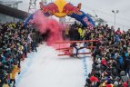 """Red Bull Jump & Freeze"" Liepkalnyje."