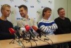 2014 10 07. Lietuvos teniso sąjungos spaudos konferencija.