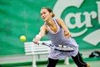 """SEB arenoje vykusiame ITF senjorų turnyre """"Vilnius Cup 2015"""" tarp geriausiųjų buvo ir lietuviai."""
