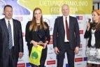 Lietuvos tinklinio federacijos konferencija ir laureatų apdovanojimas.