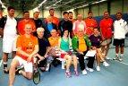 """IX tradicinis teniso turnyras """"Purpurinė rožė""""."""