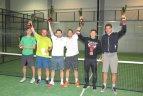 """Pirmas tarptautinis padelio teniso turnyras """"LPF Open""""."""