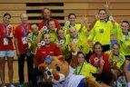 Europos universitetų sporto žaidynės. Merginų rankinio finalas. Kroatija - Lietuva 25:24.