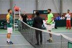 Daviso taurė: Lietuvos teniso rinktinė įveikė Madagaskarą