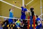 """Baltijos tinklinio lyga. """"Vilniaus kolegija-Flamingo Volley"""" – Jėkabplio """"Luši""""."""