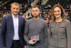 Lietuvos tinklinio čempionato vyrų ir moterų varžybų geriausių žaidėjų apdovanojimai.