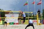EEVZA vyrų paplūdimio tinklinio čempionato etapas Rokiškyje.