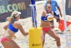 Lietuvos sportininkių pasirodymas paplūdimio tinklinio pasaulio jaunimo čempionate Kinijoje.