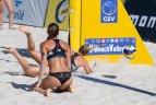 """Europos moterų paplūdimio tinklinio čempionato """"Satellite"""" serijos turnyras Vilniuje"""