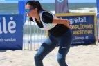 Paplūdimio tinklinio atvirojo Lietuvos čempionato trečiasis etapas Klaipėdoje.