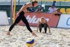 EEVZA paplūdimio tinklinio jaunių čempionatas Vilniuje