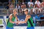 Tarptautinės tinklinio federacijos (FIVB) keturių žvaigždučių serijos turnyras Varšuvoje.
