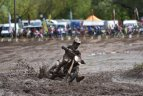 """Ketvirtasis """"Nissan Lietuvos motociklų kroso čempionato"""" etapas Panevėžyje."""