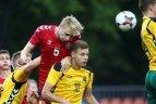 Europos jaunimo (iki 21 m.) čempionato atranka. Lietuva – Danija 0:2.