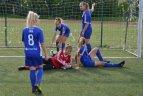 Lietuvos mergaičių WU13  futbolo čempionato rungtynės Utenoje 2018 09 11