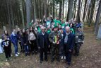 Svėdasuose, Šimonių girioje, vyko 5-asis pagarbos bėgimas Algimanto apygardos partizanams atminti.