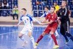 Salės futbolas. Kontrolinės rungtynės. Slovakija – Lietuva 4:1.