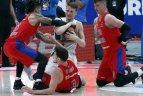 "2018 11 21. Eurolyga. Maskvos CSKA – Kauno ""Žalgiris""."