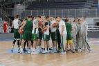 Lietuvos krepšinio rinktinė surengė treniruotę Italijoje.