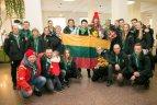 Lietuvos delegacijos sugrįžimas iš Europos jaunimo olimpinio festivalio.