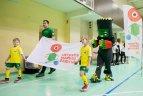 Boksininko Tado Tamašausko vizitas Lietuvos mažųjų žaidynėse