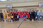 """27-asis Salomėjos Nėries gimnazijos asolventų krepšinio turnyras """"Salama""""."""