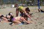 Lietuvos ir Ukrainos paplūdimio tinklinio talentų stovykla Turkijoje