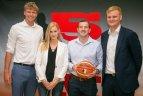Sostinės krepšinio mokykla savo rėmėjams ir partneriams surengė padėkos vakarą.