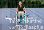 Prezidento taurės turnyro pusfinalyje – Lietuvos teniso talentai.