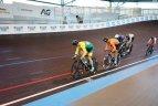 Europos jaunių ir jaunimo dviračių treko čempionatas Gente (Belgija).
