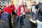 """2019 07 15 """"Sūduva"""" keliavo į Belgradą, kuriame žais atsakomąsias rungtynes su """"Crvena zvezda""""."""