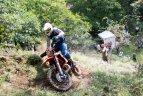 """Enduro motociklų ralio """"Romaniacs"""" antrasis etapas."""