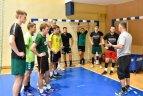 """Klaipėdos """"Dragūno"""" rankininkai pradėjo pasirengimą naujam sezonui."""