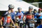 Pasaulio orientavimosi sporto kalnų dviračiais čempionato bendro starto lenktynės.