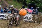 """Enduro motociklų ralio """"Romaniacs"""" paskutinis etapas."""