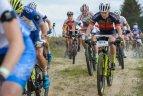 Pasaulio orientavimosi sporto kalnų dviračiais čempionato estafečių varžybos.