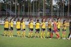 """UEFA Čempionių lygos atrankos turnyras. Alytus. Šiaulių """"Gintra-Universitetas"""" – """"Birkirkara"""" 1:0."""