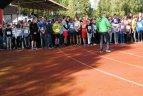 Tarptautinės signataro Petro Poškaus atminimo kaimo pagrindinių mokyklų lengvosios atletikos varžybos.