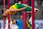 2019 10 01. Lengvosios atletikos pasaulio čempionatas Dohoje. Vyrų šuolio į aukštį atranka.