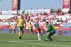 Mažojo futbolo pasaulio čempionatas Graikijoje. Lietuva – Lenkija 0:6.