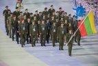 Septintųjų pasaulio kariškių sporto žaidynių Kinijoje atidarymas.