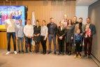 Europos žaidynių ir Europos jaunimo olimpinio festivalio prizininkų pagerbimas LTOK.